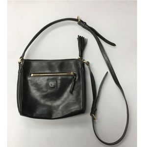 DOONEY & BURKE small leather crossbody purse bag